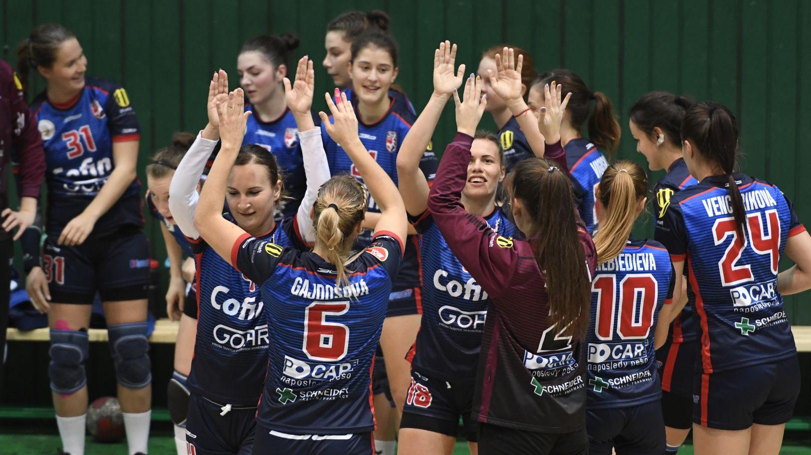 MOL liga: Hádzanárky Prešova nestačili na Sláviu Praha