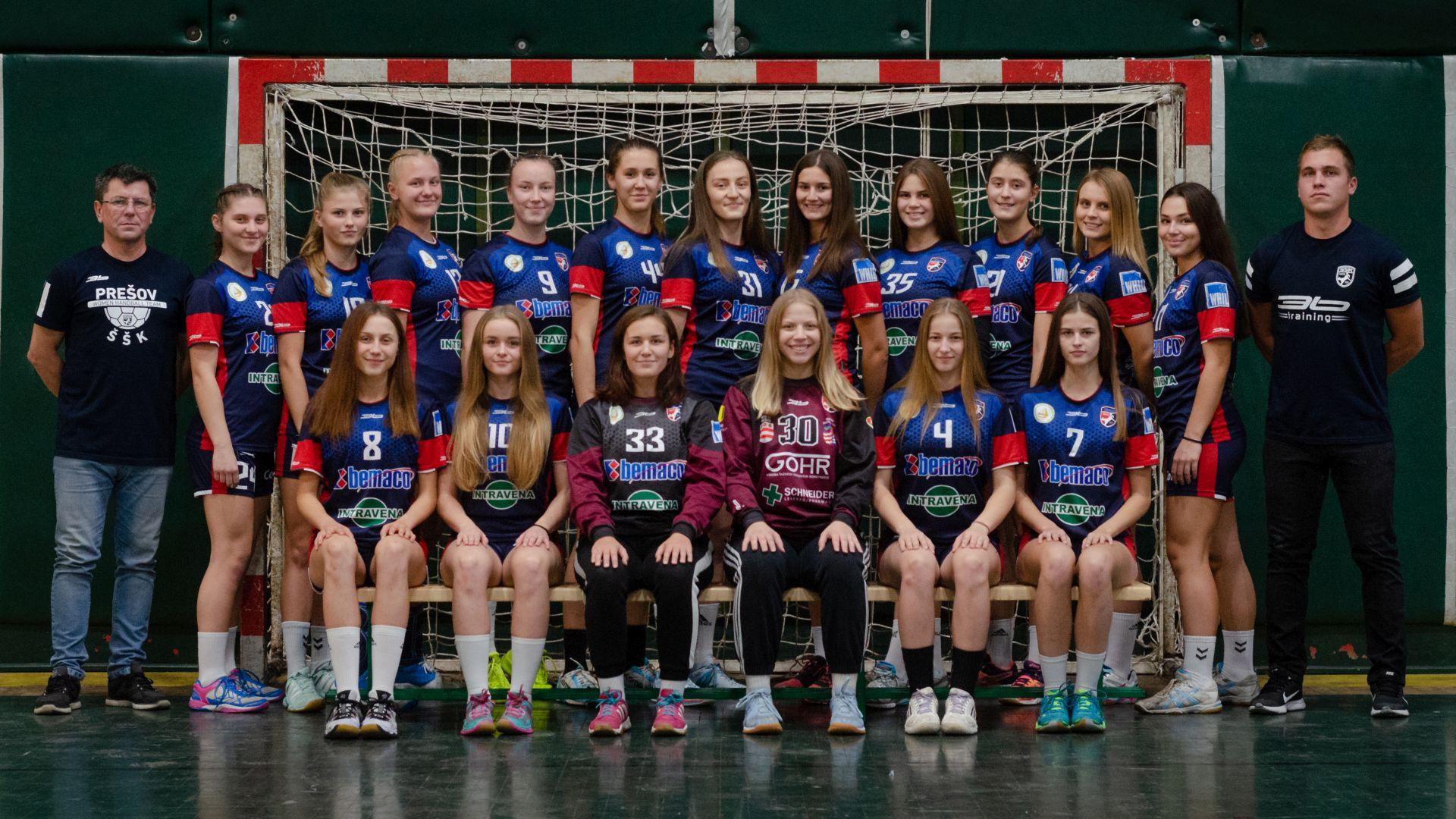Dorastenky ŠŠK Prešov aj naďalej medzi troma najlepšími