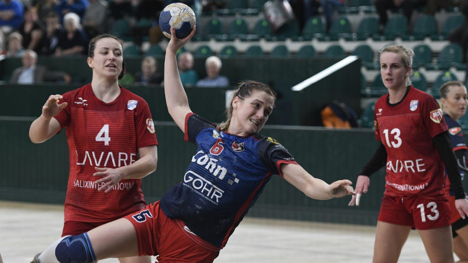 MOL liga žien: Prešov si doma poradil s Bánovcami