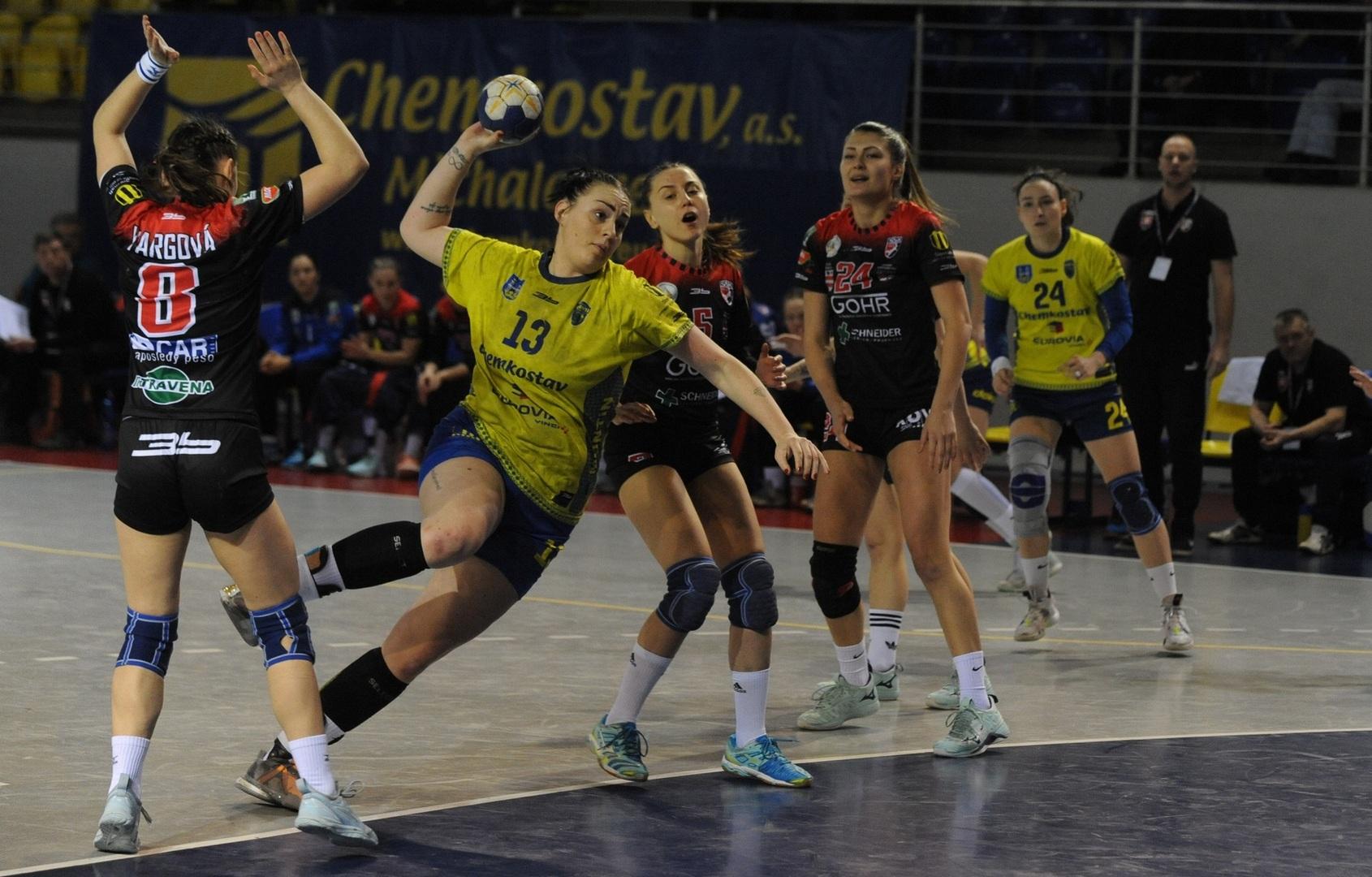 MOL liga: Hádzanárky Prešova prehrali s Iuventou