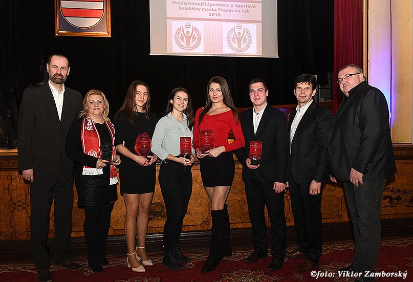 Najúspešnejší športovci a športové kolektívy mesta Prešov za rok 2019