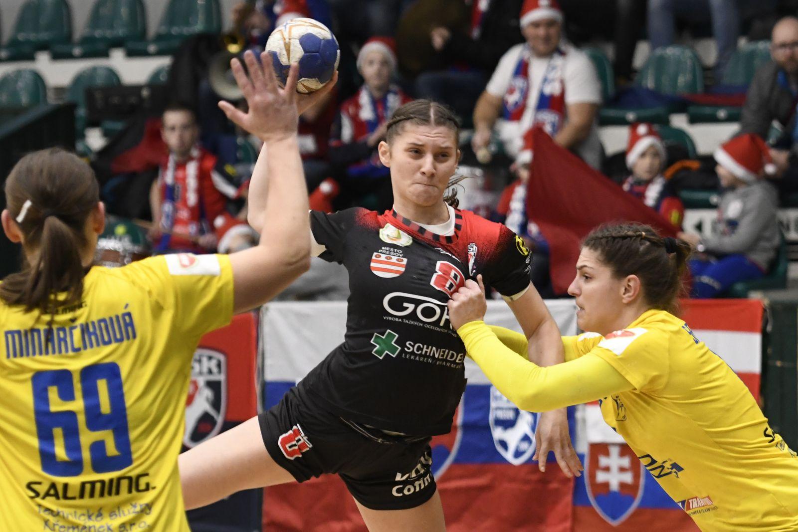 MOL liga: Zápas Prešovčaniek v Moste museli odložiť