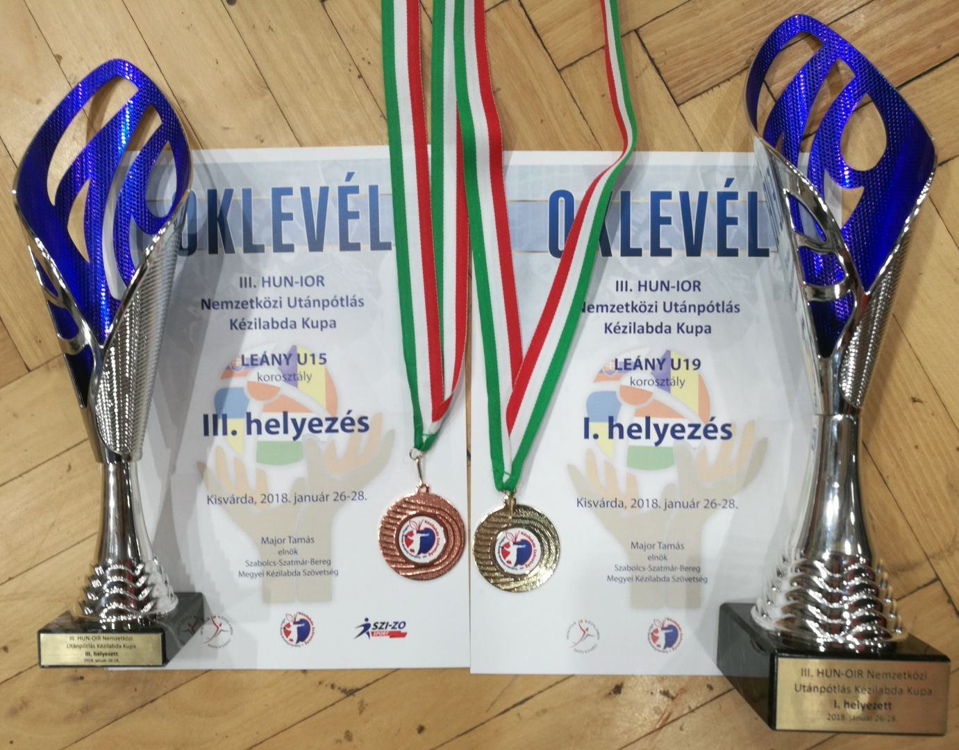 Turnaj Kisvarda 01/2018